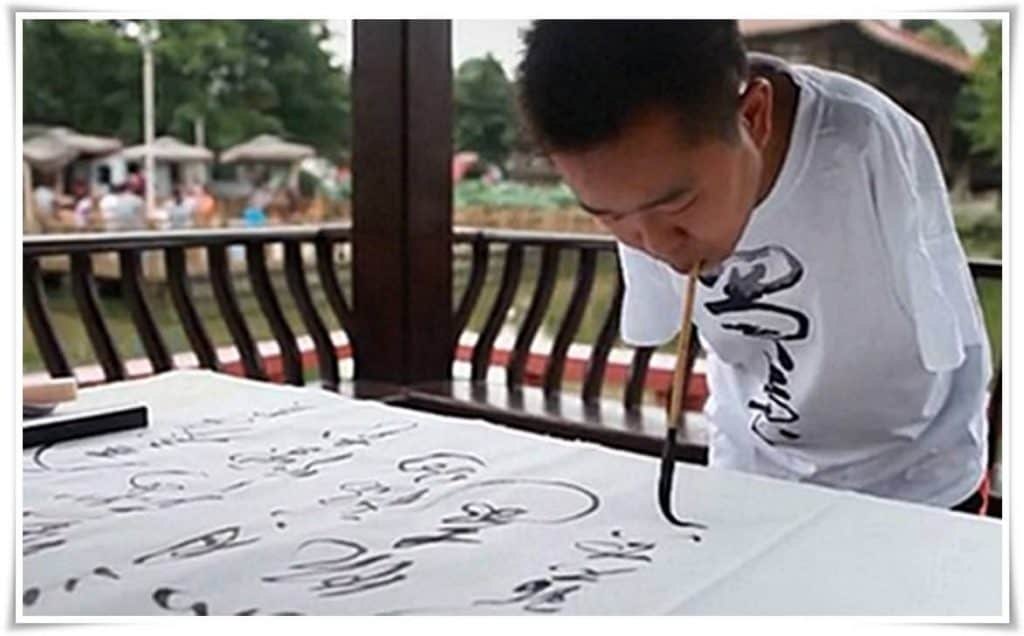 figure_1_can_an_armless_person_become_an_calligraphy_master