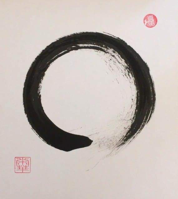 enso-sumi-on-shikishi-board-21-cm-x-18-cm